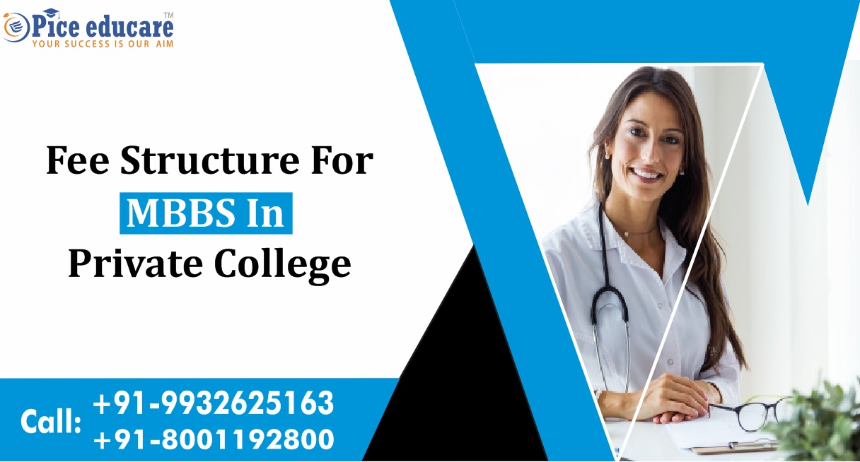 Fee structure for MBBS in Private college in India 435