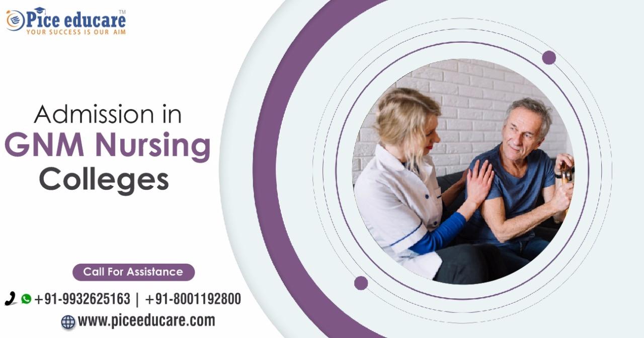 Admission in GNM Nursing colleges in India