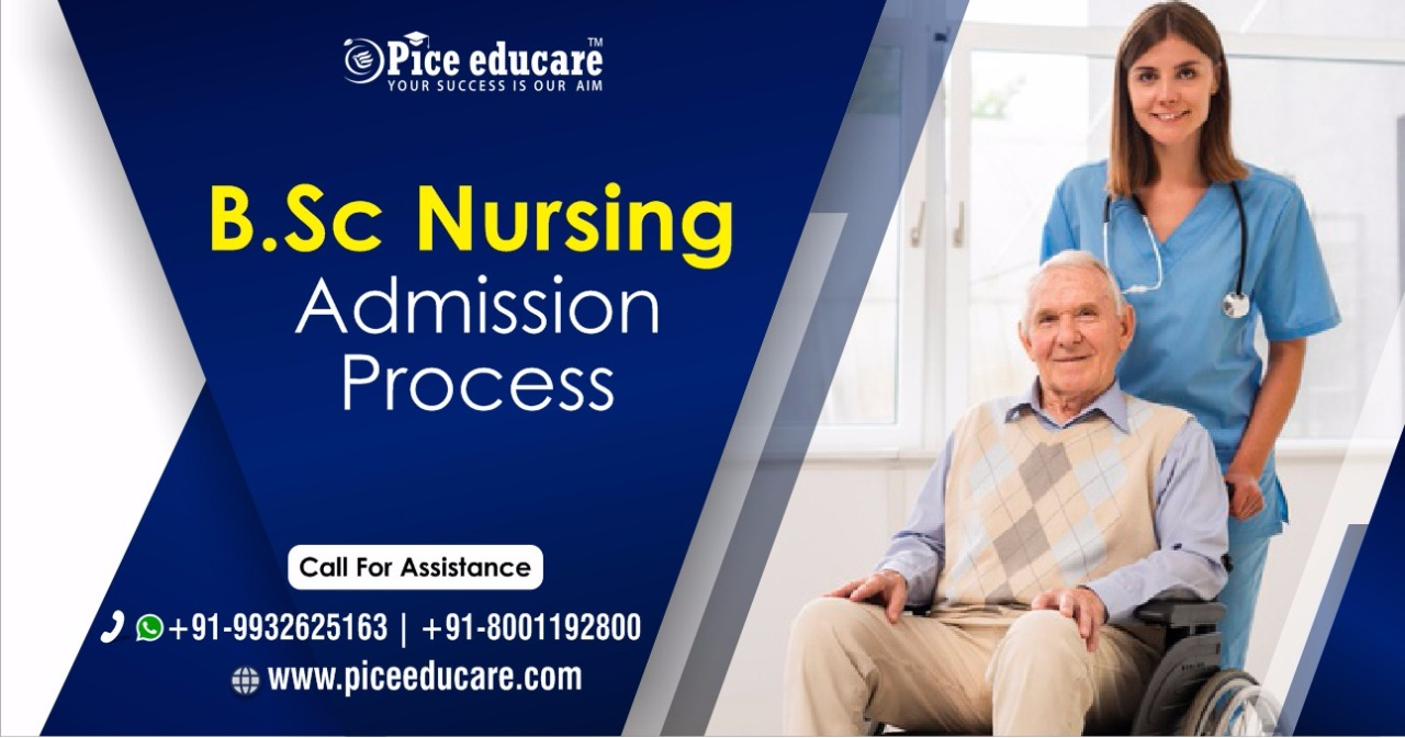 B.Sc Nursing admission process in India