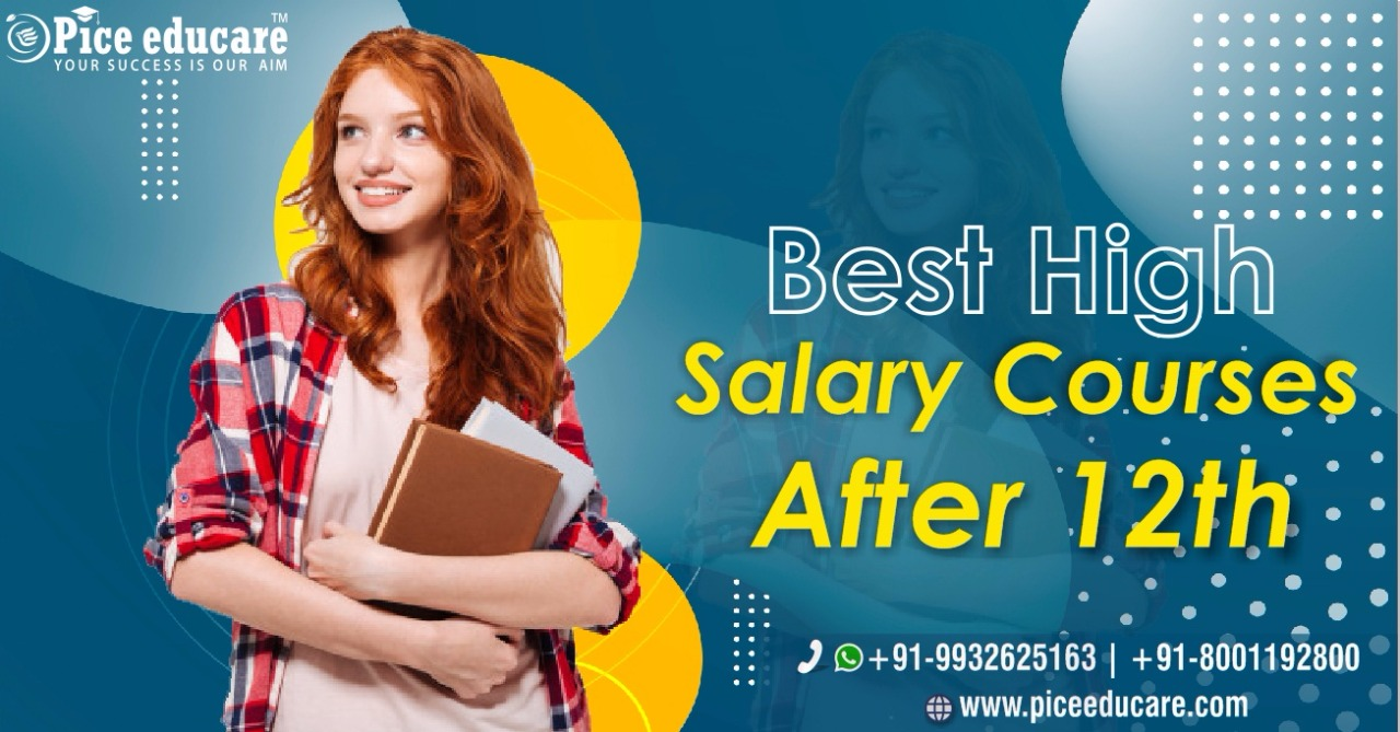 Best high salary courses after 12th in India