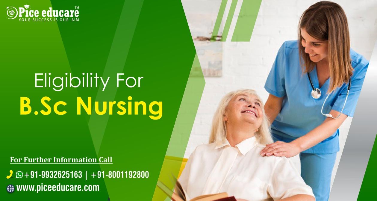 Eligibility for B.Sc Nursing