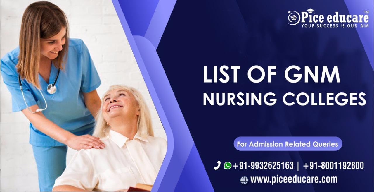 List Of GNM Nursing Colleges in Kolkata West Bengal