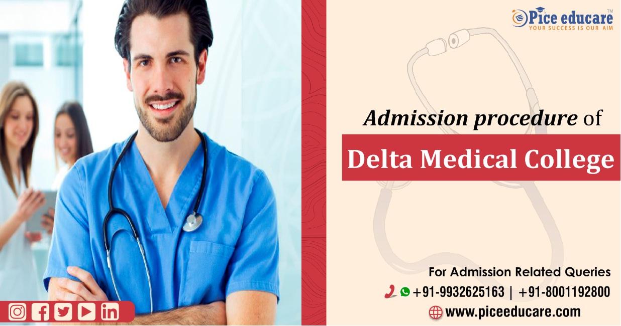 Admission procedure of Delta Medical College