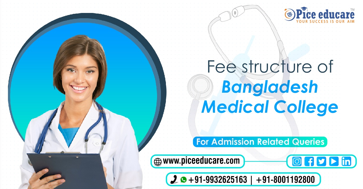 Fee structure of Bangladesh Medical College