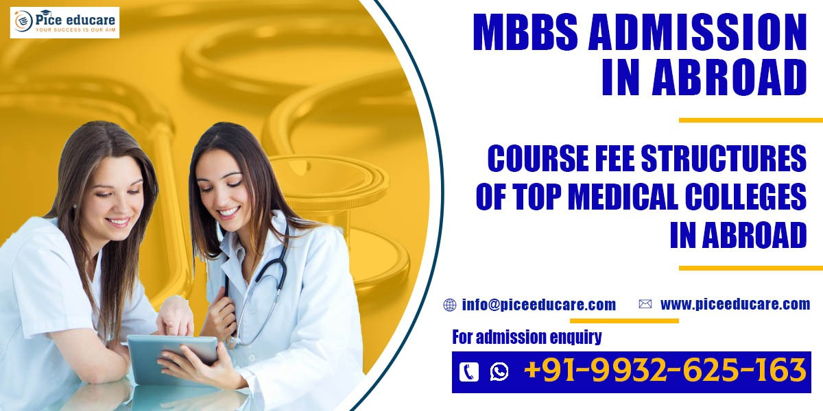 Fee structure for MBBS admission in abroad