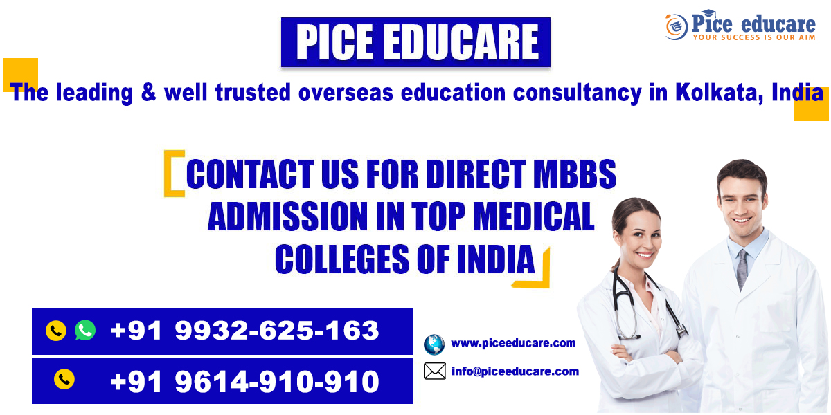 Contact Us for direct MBBS admission in top medical colleges of India and Abroad