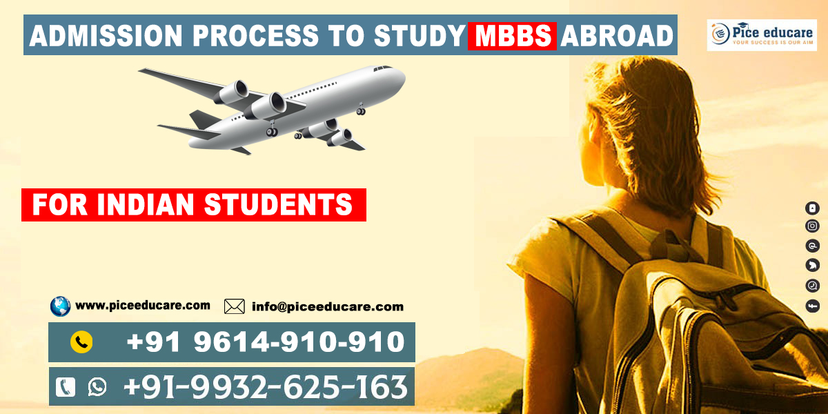 Admission Process to study MBBS abroad