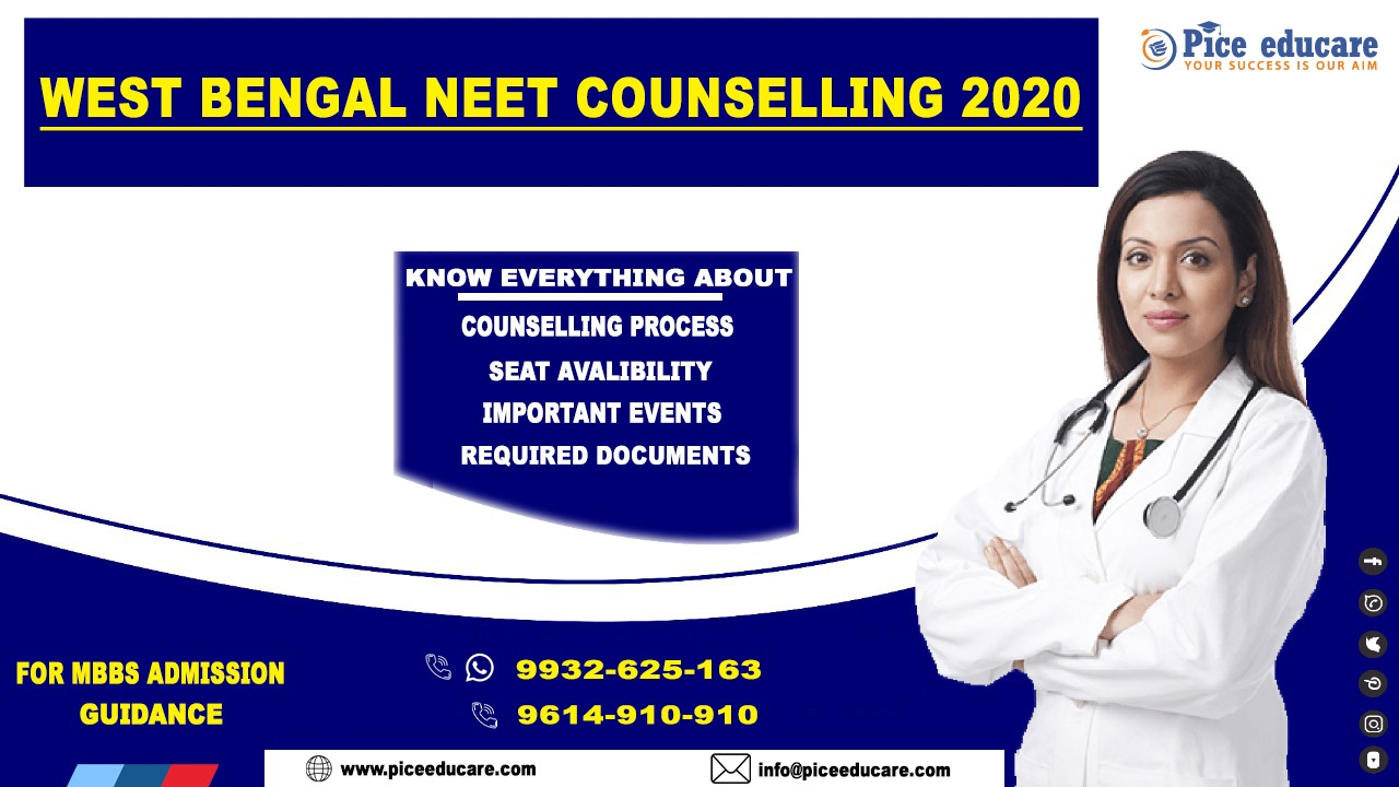 2020 NEET counselling In West Bengal