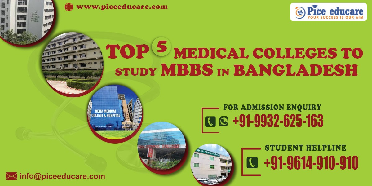 Top 5 Medical Colleges To Study MBBS In Bangladesh