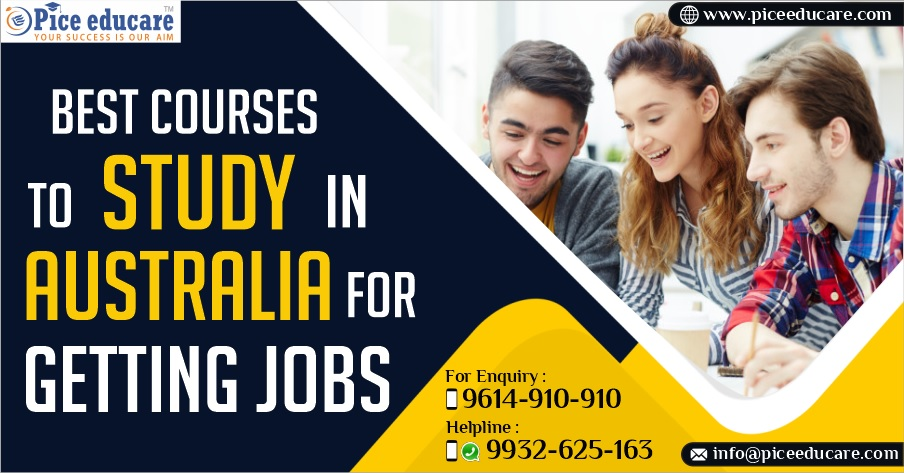 Top courses to study in Australia for getting jobs