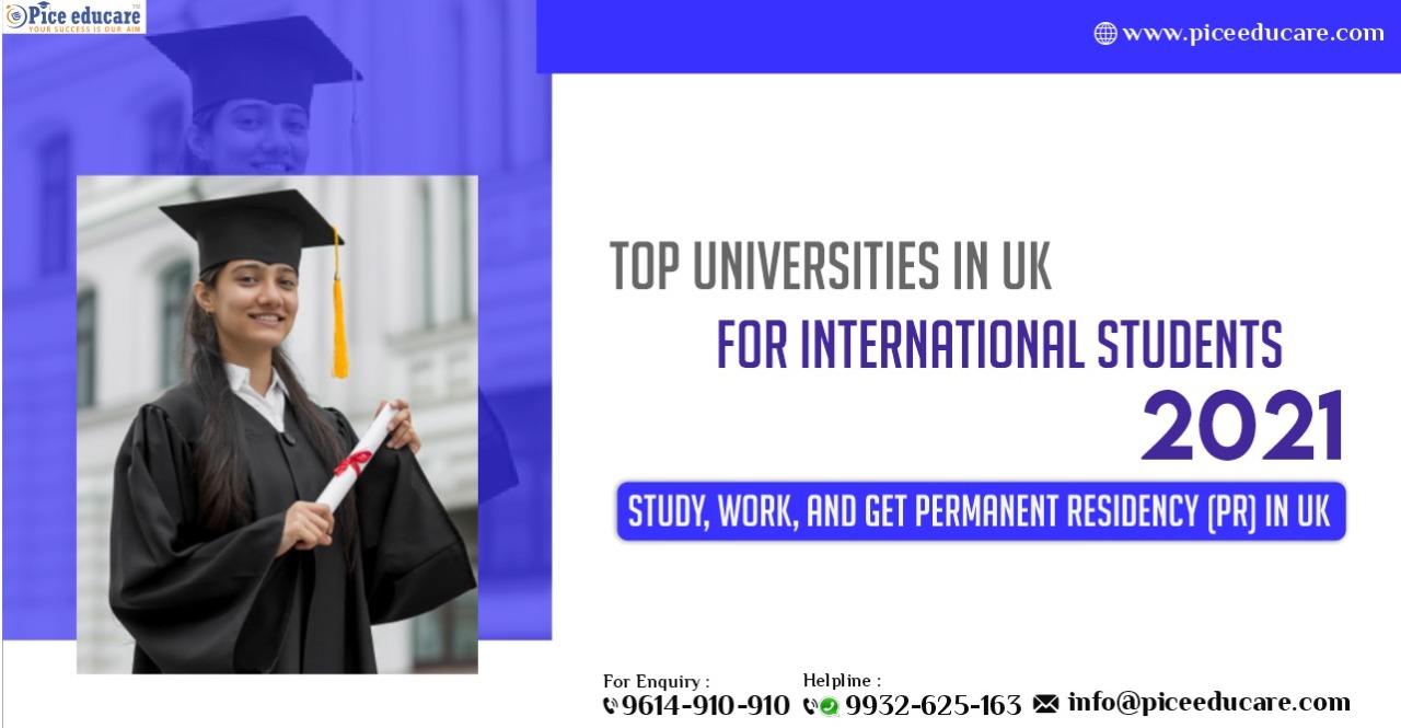 Top Universities In UK For International Students 2021