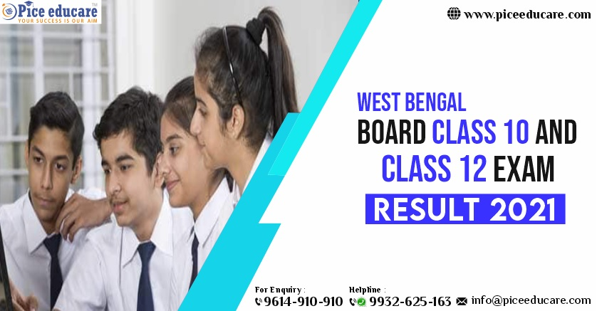 West Bengal Board Class 10 And Class 12 Exam Result 2021