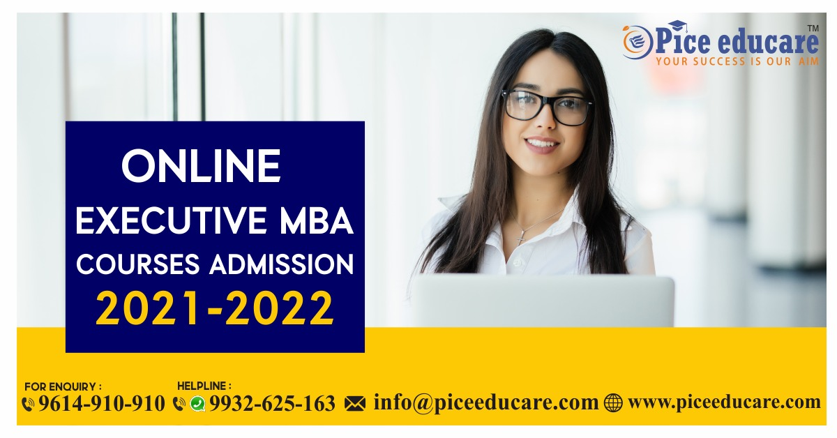 Online Executive MBA Courses Admission